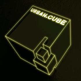 LogoEntwicklung für Theaterkollektiv URBAN CUBE (zusammen mit Künstler kollapsimpuls)