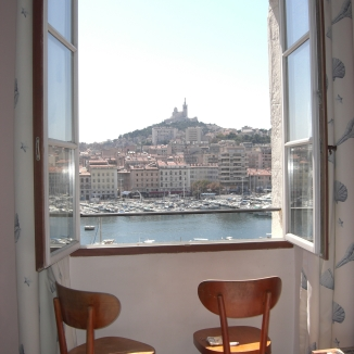 Room with a view, Marseille. © Lina Bibaric