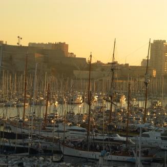 Der gelbe Klang, Marseille. © Lina Bibaric