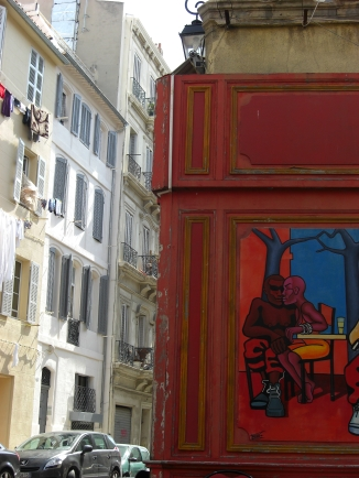 Kunst an jeder Ecke, Marseille. © Lina Bibaric
