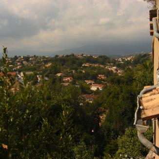 Blick von der Burg - Cagnes, Südfrankreich. © Lina Bibaric