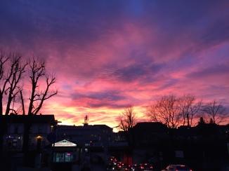Himmel über KloBurg © Lina Bibaric