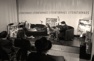 LiMA live im Literaturhaus, Wien [Foto: Andreas Fleckl]